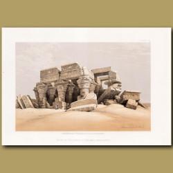 Ruins Of The Temple Of Kom-Ombo, Upper Egypt