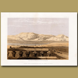 Libyan Chain Of Mountains, From The Temp