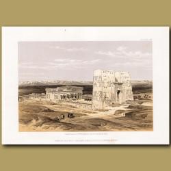 Temple Of Edeou, Ancient Apollinopolis, Upper Egypt
