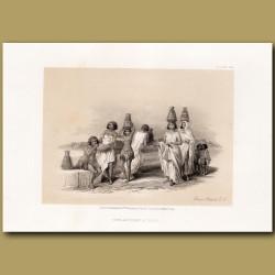 Nubian Women At Korti