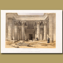 Grand Portico At The Temple Of Philae, Nubia