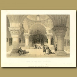Crypt Of The Holy Sepulchre
