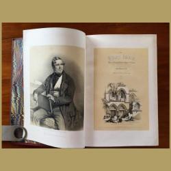 Antique Book: The Holy Land By David Roberts. Vol 1 Jerusalem & Galilee and Vol 2.Jordan & Bethlehem