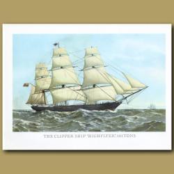Clipper Ship Highflyer