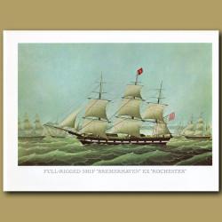 Full Rigged Ship