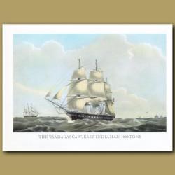 East Indiaman Ship Madagascar