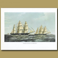 Clipper Ships Taeping and Ariel