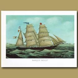 Barque Ship Molly