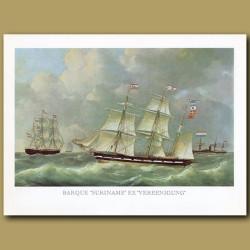 Barque Ship Suriname