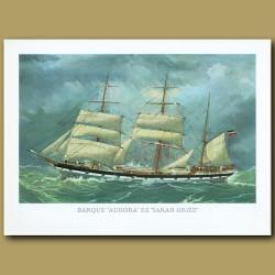 Barque Ship Aurora