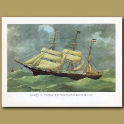 Barque Ship Dora