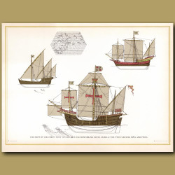 Ships of Columbus's first voyage
