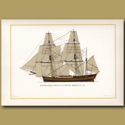 Swedish barque Fortuna, 300 tones