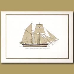 German Topsail schooner Hansine