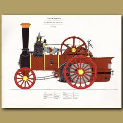 Steam Engine Finem Respice 1900