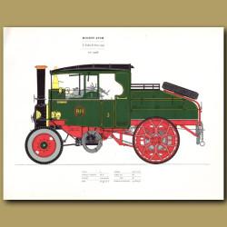 Steam Engine Mighty Atom 1932