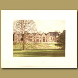 Exton House: Earls of Gainsborough
