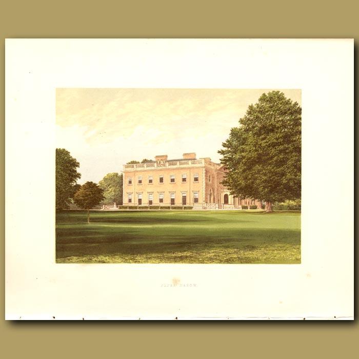 Antique print. Peper Harow: Viscount Midleton