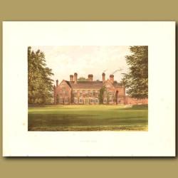 Nether Hall: Greene Family