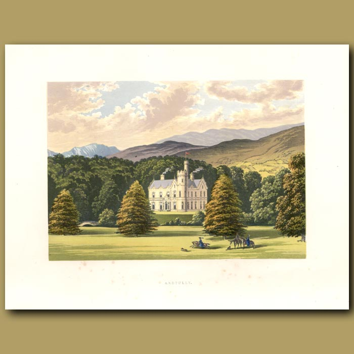 Antique print. Ardtully