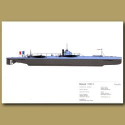 Narval Submarine 1898-9