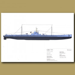 U35 Submarine 1914