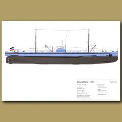 Deutschland Submarine 1916