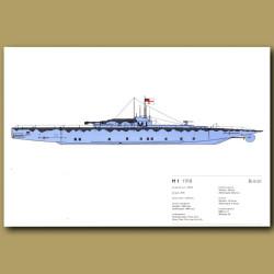 M1 Submarine 1918