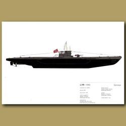 U99 Submarine 1940