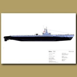 Balao Submarine 1942