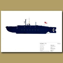 X Craft Submarine 1943