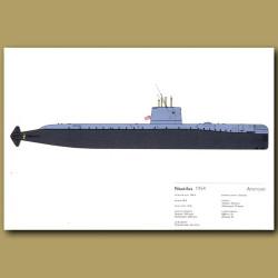Nautilus Submarine 1954
