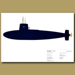 Skipjack Submarine 1958