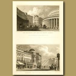 The Quadrant And Part Of Regent Street And Harmonic Institution, Regent Street