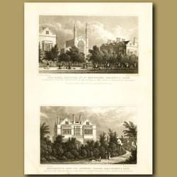 The Royal Hospital Of St Katherine And Residence Of Genl. Sir Herbert Taylor, Regent's Park