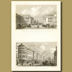 Waterloo Place And Part Of Regent's Street And Regent Street From The Quadrant