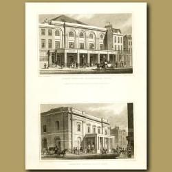 Surry Theatre, Blackfriars Road And Theatre Royal, Drury Lane