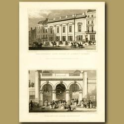 Crockford's Club House, St.James's Street And Burlongton Arcade, Piccadilly
