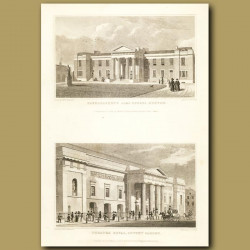 Haberdasher's Alms Houses, Hoxton And Theatre Royal, Covent Garden