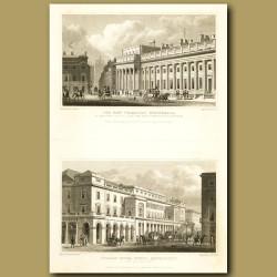 The New Treasury, Whitehall And Italian Opera House, Haymarket