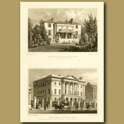 Albany Cottage, Regent's Park And Apsley House, Hyde Park Corner