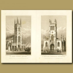 St.Luke's Church, Chelsea And St. Mark The Evangalist, Pentonville