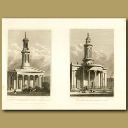 The New Church, Regent's Square And The New Church, Camden Town