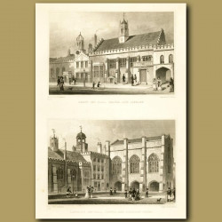 Gray's Inn Hall, Chapel And Library And Lincoln's Inn Hall, Chapel And Chancery Court