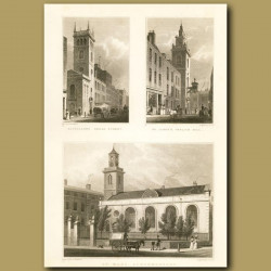 Allhallows, Bread St, St.James's Garlick Hill And St. Mary, Aldermanbury
